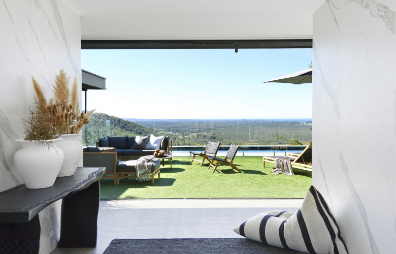 Maison en beton single level sunshine coast escape with - Maison architecte queensland tim ditchfield ...