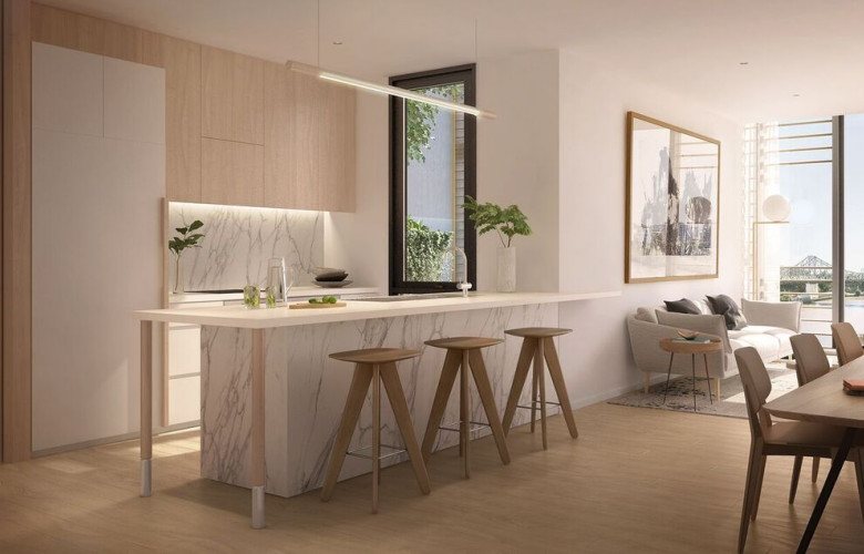Kitchen Construction Begins Soon : Construction to begin soon on brisbane residential tower