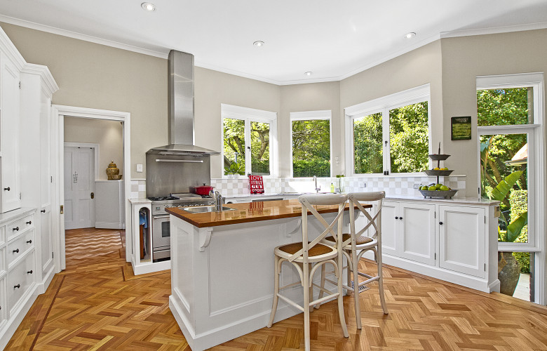 Australia federation style family living the real for Federation kitchen designs
