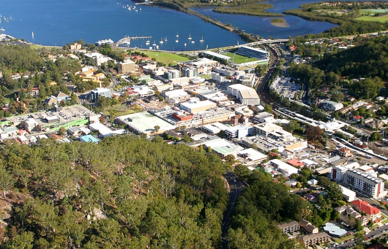 Image result for view of gosford central coast