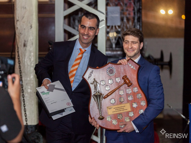 Novice Auctioneers Competition nears climax
